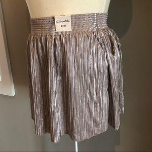 Aeropostale metallic skirt